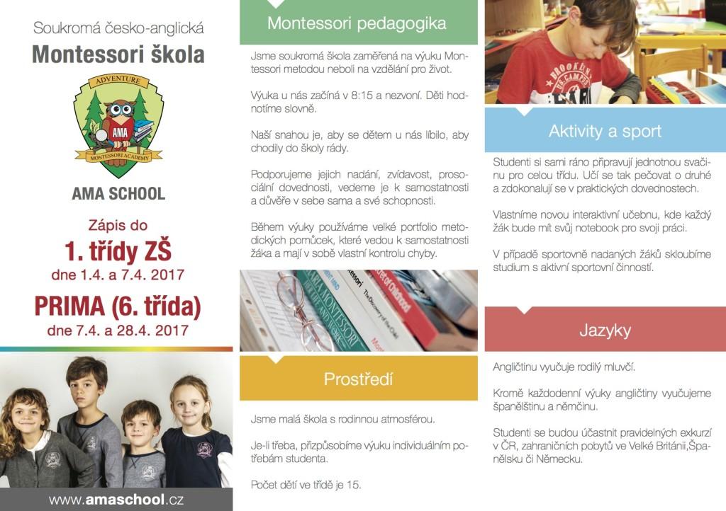 AMA school - prima